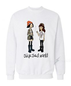 Daria Mtv Sick Sad World Sweatshirt