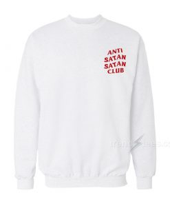 Anti Satan Club Sweatshirt