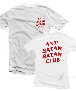 Anti Satan Satan Club T-Shirt