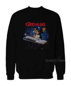 Gremlins Gizmo Playing Keyboard Sweatshirt