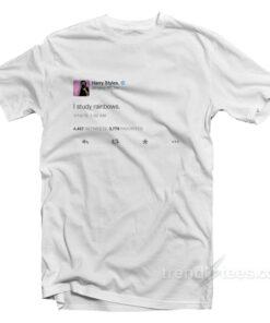 Harry Styles I Study Rainbows Tweet Shirt
