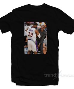 Kobe Bryant Attends Lakers Game T-Shirt