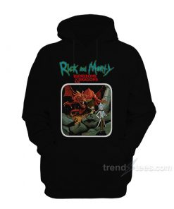 Rick & Morty VS Dungeons & Dragons Hoodie