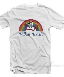 Toy Story 4 Forky Talkin' Trash Rainbow T-Shirt