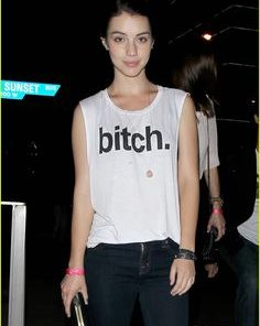 Adelaide Kane Bitch Tank Top