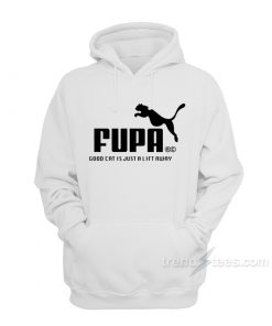 Fupa Good Cat Is Just A Lift Away Hoodie