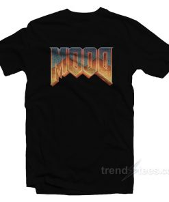 Mood Doom Logo Parody T-Shirt