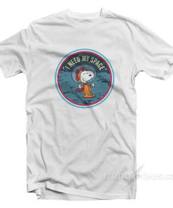 Snoopy I Need My Space T-Shirt