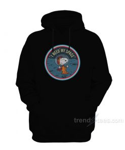 Snoopy I Need My Space Hoodie