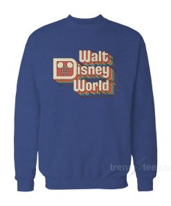 Retro Walt Disney World Sweatshirt