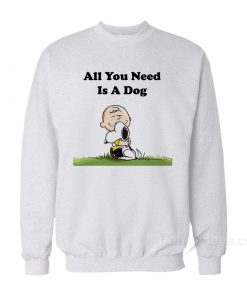 Snoopy Peanuts All You Need Is a Dog 1 247x296 - HOME 2