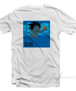Son Goku Nirvana Cover Parody T-Shirt