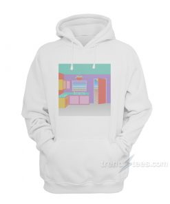 Surfaces Where The Light Is Cover Album Hoodie