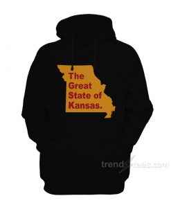 The Great State of Kansas Hoodie