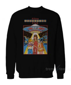 Alien Abduction Club Sweatshirt