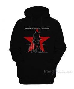 Bernie Aganinst The Machine Hoodie