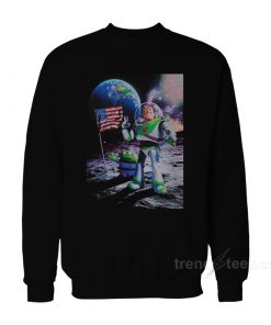Buzz Lightyear Moon Landing Sweatshirt