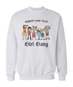 Hey Arnold Support Your Local Gang Sweatshirt