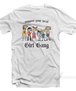 Hey Arnold Support Your Local Gang T-Shirt