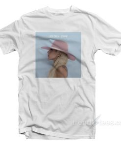 Lady Gaga Joanne Album Cover T-Shirt