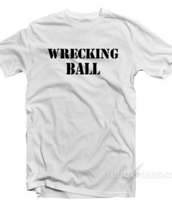 Miley Cyrus Wrecking Ball T-Shirt