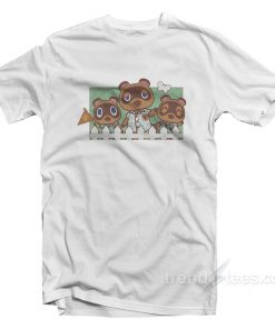 Nintendo Animal Crossing Nook Family T-Shirt