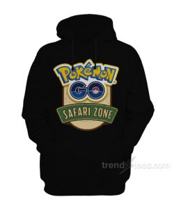 Pokemon GO Safari Zone Hoodie For Women's Or Men's