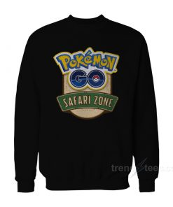 Pokemon GO Safari Zone Sweatshirt
