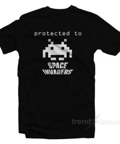 Protected To Space Invanders T-Shirt