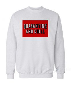 Quarantine And Chill Box Logo Sweatshirt