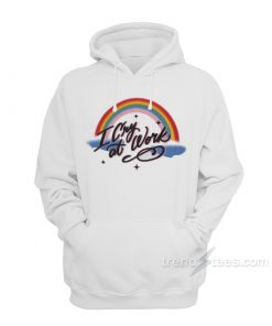 Rainbow I Cry At Work Hoodie