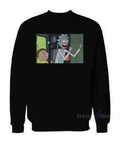 Rick Morty Fuck Off Sweatshirt