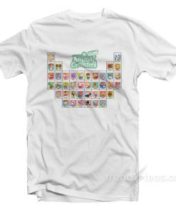Animal Crossing Periodic Table T-Shirt