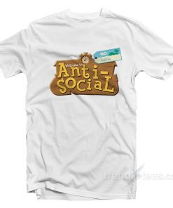 Welcome to Anti Social Animal Crossing Parody T-Shirt