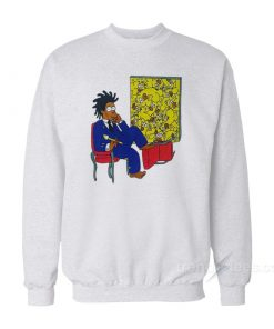 Basquiat Simpson Sweatshirt