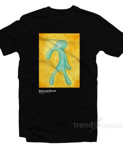 Bold And Brash Painting Squidward Tentacles T-Shirt
