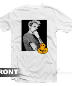Justin Bieber Changes Duck Photo T-Shirt