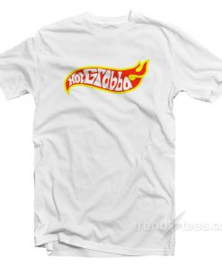 Hot Grabba Hot Wheels Logo Parody T-Shirt
