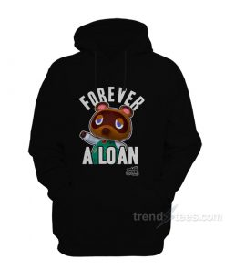 Nintendo Animal Crossing Forever A Loan Hoodie