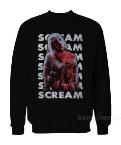 Scream Horror Movie Sweatshirt