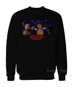 Stranger Things Characters Sweatshirt