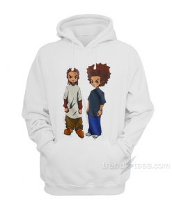 The Boondocks Riley And Huey Hoodie