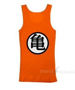 Dragon Ball Goku Kame Symbol Tank Top