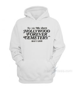 Arctic Monkeys Hollywood Forever Cemetery Hoodie