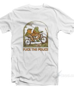 Frog And Toad Fuck The Police T-Shirt