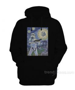 Star Wars Stormtrooper Stormy Starry Night Hoodie