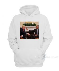 Barack Obama Middle Finger To Donald Trump Hoodie
