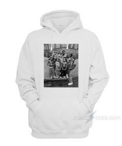 Gang culture Urban People by Jonathan Mannion Hoodie