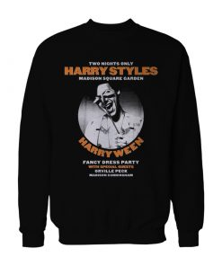 Harry Styles HARRYWEEN Fancy Dress Party Sweatshirt