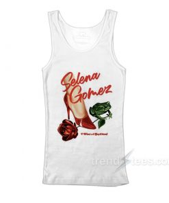 Selena Gomez I Want A Boyfriend Rose Shoes Frog Tank Top